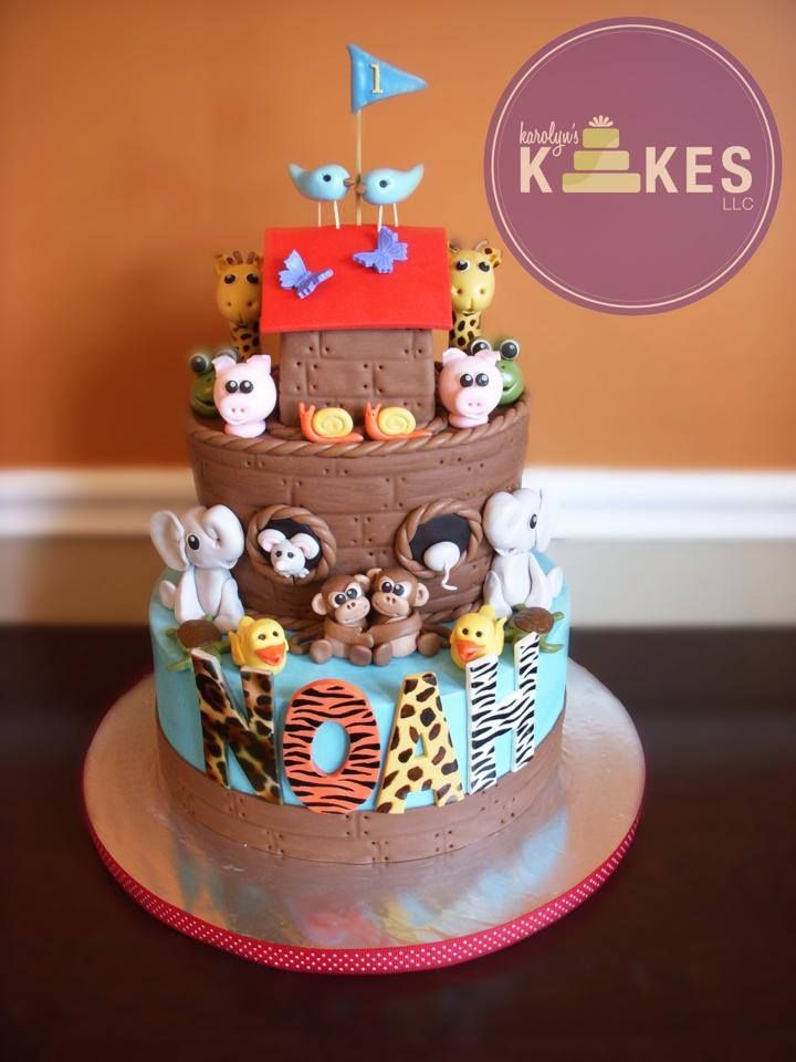 Cake Art Llc : 209 best images about Noah s Ark Cakes on Pinterest Art ...