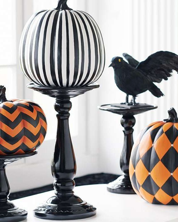Festively decorate your home for Halloween while skipping the messy carving with…