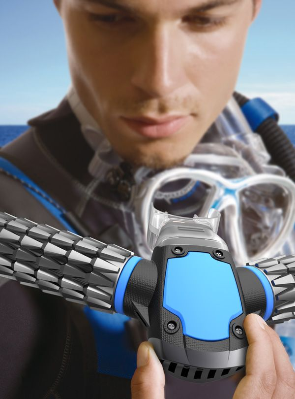 wow! Revolutionary #Scuba Mask Creates Breathable Oxygen Underwater On Its Own - The Mind Unleashed
