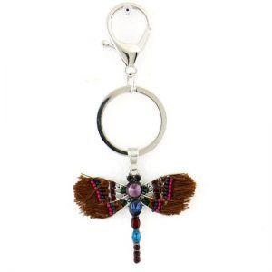 Porte-clés libellule pour sac à main - Parissima, grossiste bijoux fantaisie
