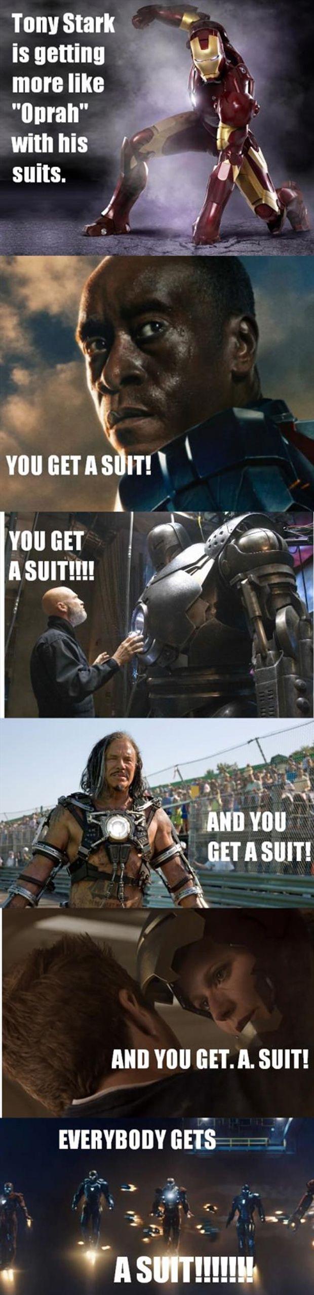 Tony Stark's Favorite Things