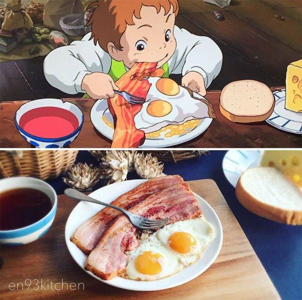 海外 日本人が再現したアニメに出てくる料理がどれも美味しそうだ 日本人が実際に作ったアニメの料理を見た海外の反応 すらるど 海外の反応 ジブリ飯 ジブリ 食べ物 料理 レシピ