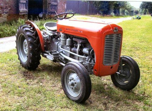 1958 Ferguson Tractor Attachments : Vintage auction catalogue massey ferguson