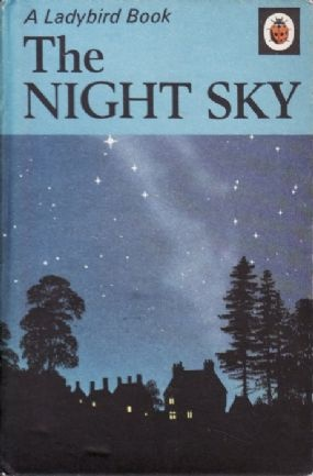 THE NIGHT SKY Vintage Ladybird Book Nature Series 536 Matt