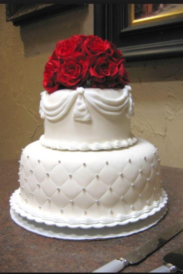 elegant small and simple wedding cake dream wedding pinterest. Black Bedroom Furniture Sets. Home Design Ideas