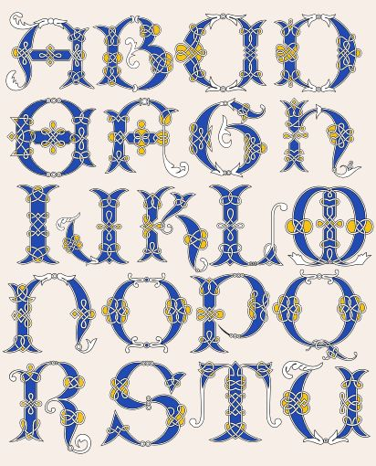Celtic Alphabet                                                                                                                                                                                 More
