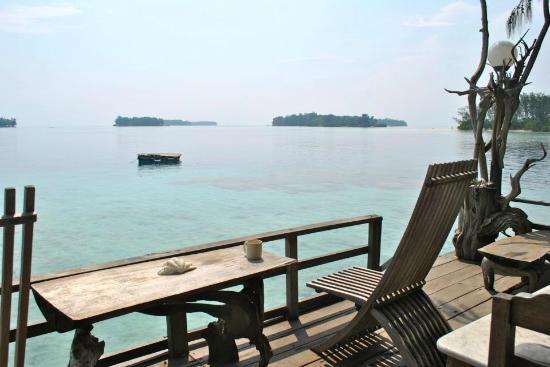 Tiger Islands Eco Resort & Village: The island view
