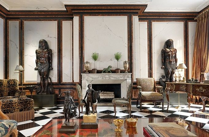 New York Townhouse by Juan Pablo Molyneux