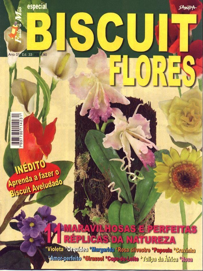 Revista de Flores de Porcelana Fria