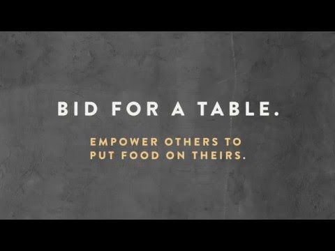 A Table to End Hunger – Pop The Campaign