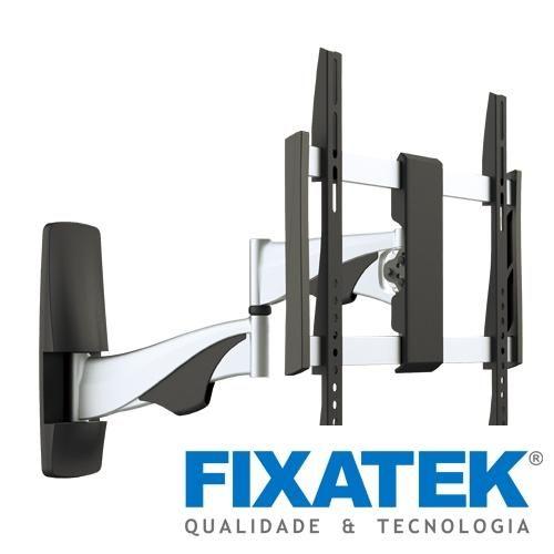 suportes tv premium e smart fixatek, para tv lcd led