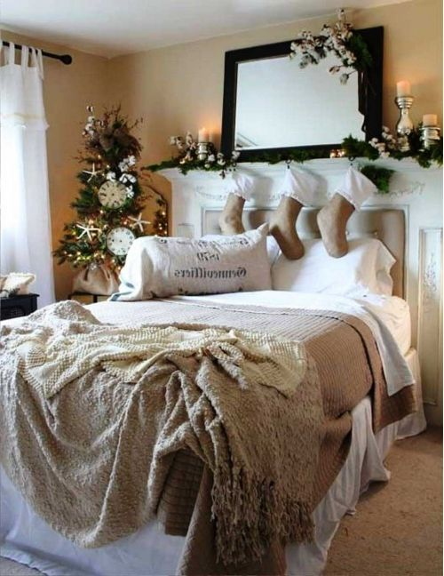 94 Best Images About Christmas Bed Room On Pinterest