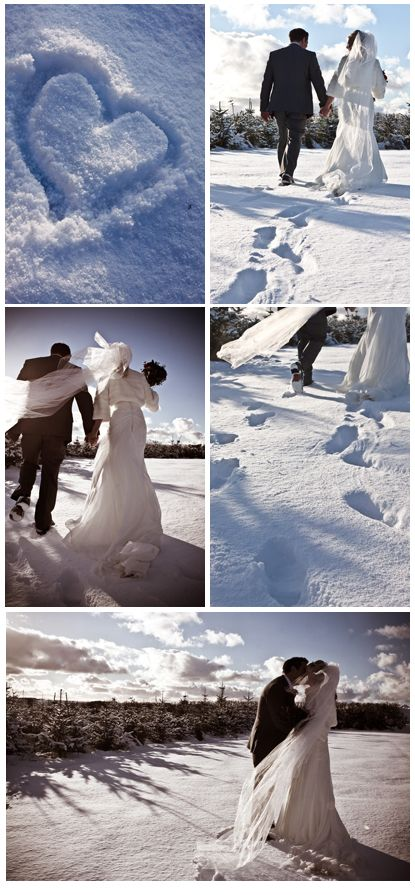 Fingers crossed that there will be snow on the ground ... Wedding ideas for brides, grooms, parents & planners ... https://itunes.apple.com/us/app/the-gold-wedding-planner/id498112599?ls=1=8 ... plus how to organise your entire wedding ... The Gold Wedding Planner iPhone App ♥