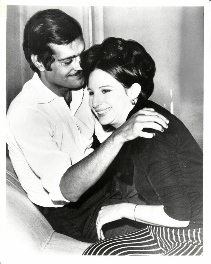 Barbra Streisand and Omar Sharif during production of FUNNY GIRL ~ Met Omar in New Orleans years ago, he was pretty drunk but still very pretty! He bought my sister a $100 bottle of wine @ Royal Sonesta and gave her $1,000 tip, Mardi Gras and all :) Love Babs and movie! @Lori Cline Doherty