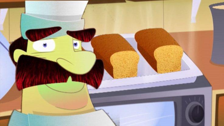 Liedje over de bakker. Zing je mee? bakken  liedje  brood  bakker  beroep