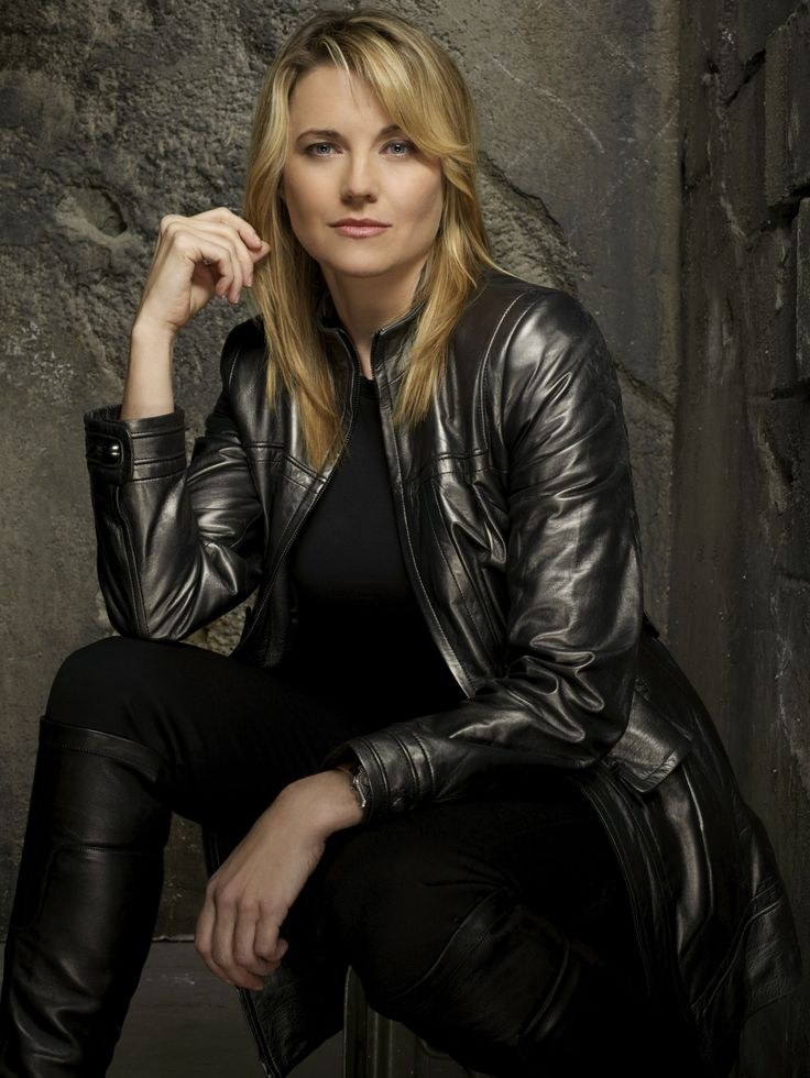 #Battlestar Galactica #Lucy Lawless #Leather Jacket