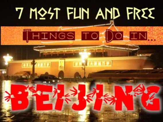 7 Most Fun and Free Things to Do in Beijing. Shanghai is larger than Beijing in population, but Beijing is China's capital.