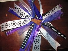 Creatively Quirky at Home: Soccer! Bows, snacks and ways to stay cool!