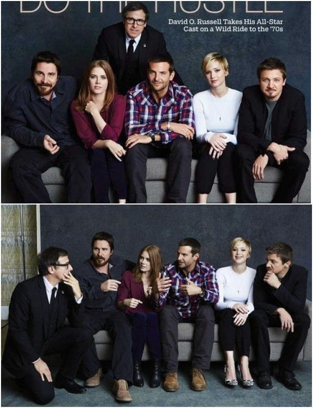 Danielle Levitt photographs the 'American Hustle' cast and David O. Russell for TheWrap
