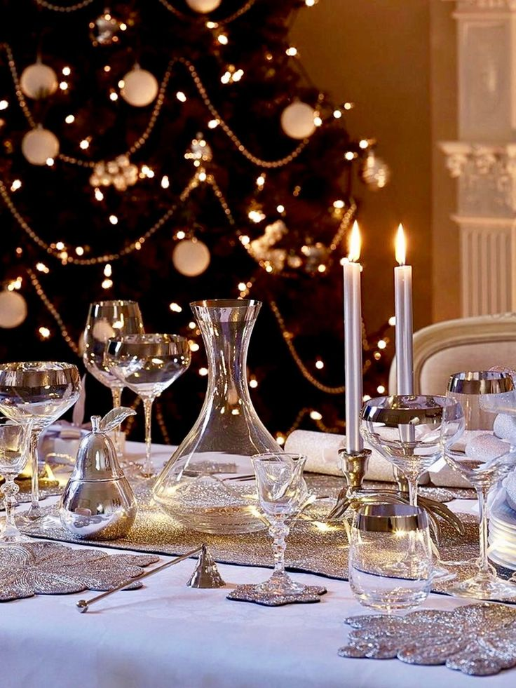 1218 Best Christmas Table Decorations Images On Pinterest