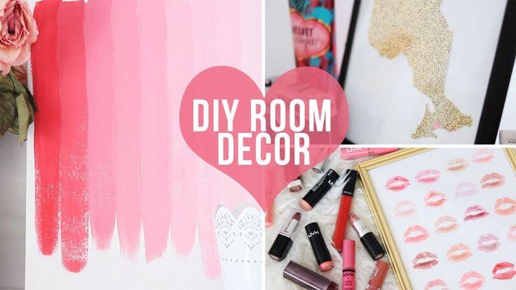 ♡ 3 Easy Room Decor/Wall Art DIYs♡ | LaurDIY