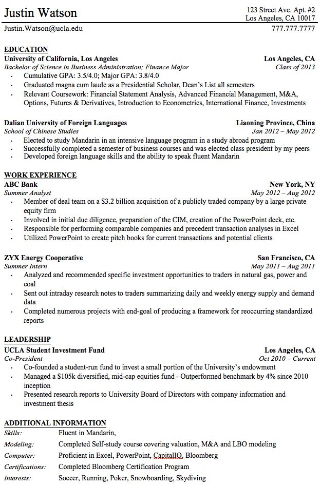 Professional Resume Templates For College Graduates Student Resume Template Professional Resume Examples Resume Template Professional