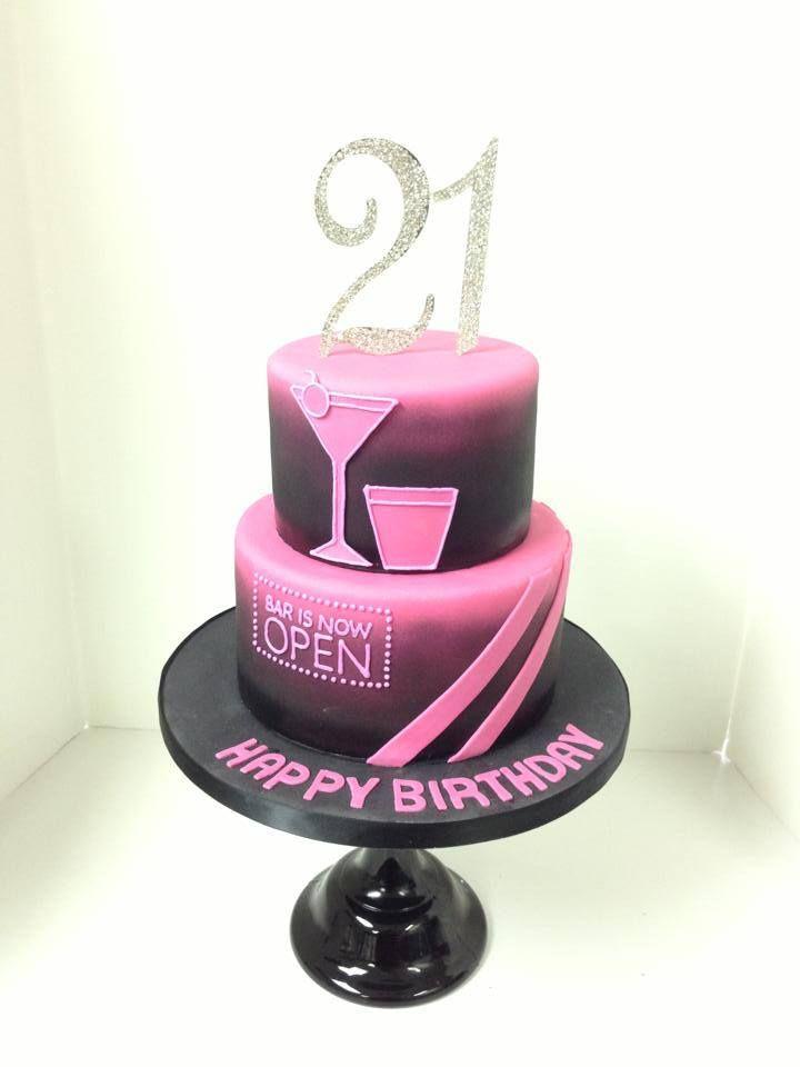 cool 21st cake