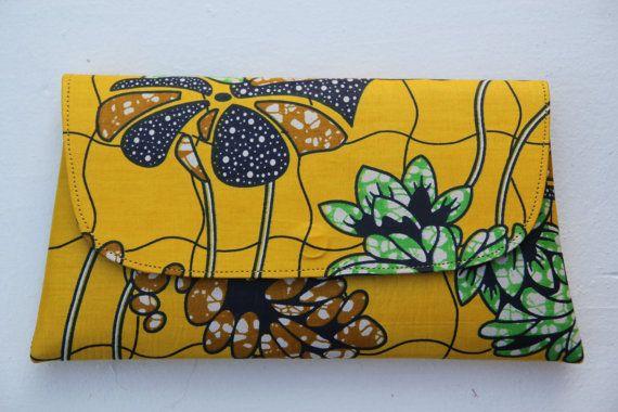 Clutch tas Boheemse clutch tas met tribal clutch door ByRoseMorrison