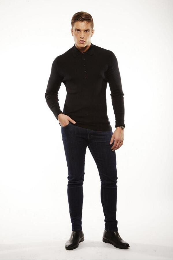 Lewis Bloor looking Dapper in his finest John Smedley shirt for the series 11 promo shoot! #Towie #TheOnlyWayIsEssex