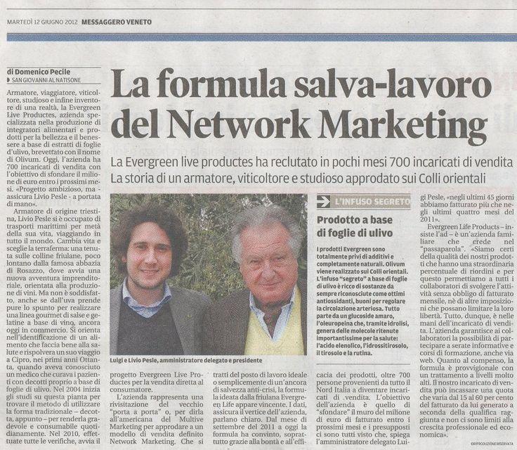La formula salva-lavoro del network marketing
