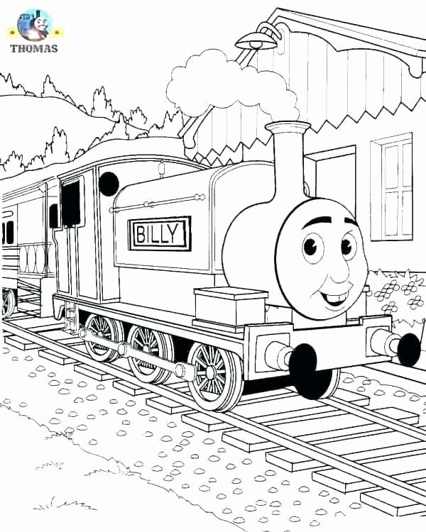 Toy Train Coloring Pages Elegant Color Thomas The Train Jmiafo
