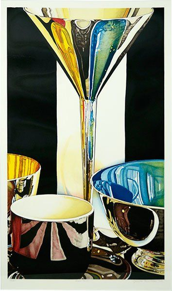 JEANETTE PASIN-SLOAN (AMERICAN, B. 1946) SEARS TOWER. : Lot 151-6140 #lithograph