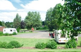 Strathclyde Country Park Caravan Site, Glasgow, Scotland