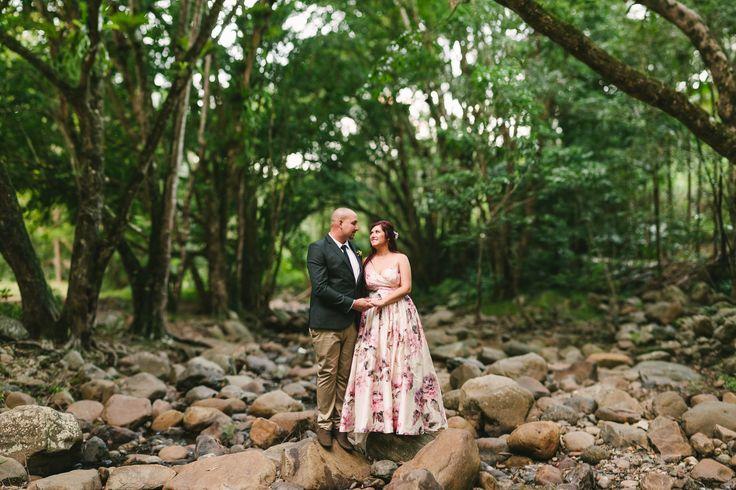 Mavis Kitchen Wedding Portrait