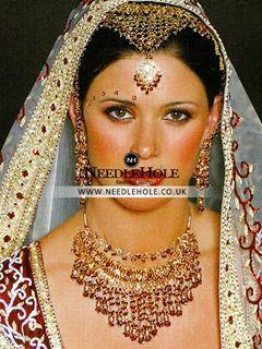 Handmade custom designed #Indian #Pakistani #bridal #jewelry  #AsianWedding #Shaadi #Armani #DolceGabbana #Muslim #Hindu #Sikh #Gujarati #Punjabi