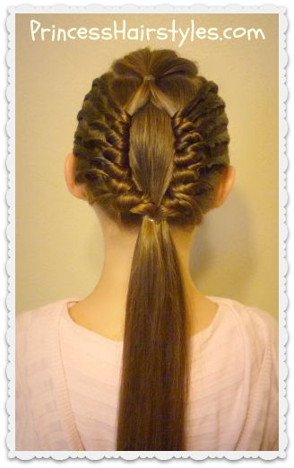 Window braid hair tutorial