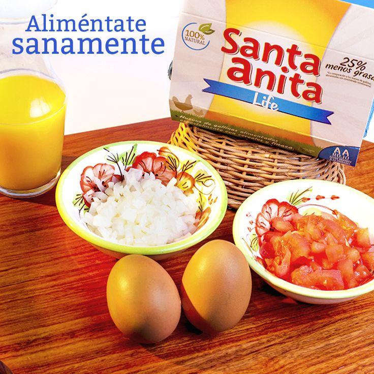 ¿Quieres quitarte esos kilitos de más? Los Huevos Santa Anita Life son huevos con 25% menos grasa y 16% calorías, lo que te ayudan junto a una nutrición balanceada y algo de ejercicio, a bajar esos kilos de más. Pruébalos, y descubre su fantástico sabor. :) #HuevosSantaAnita