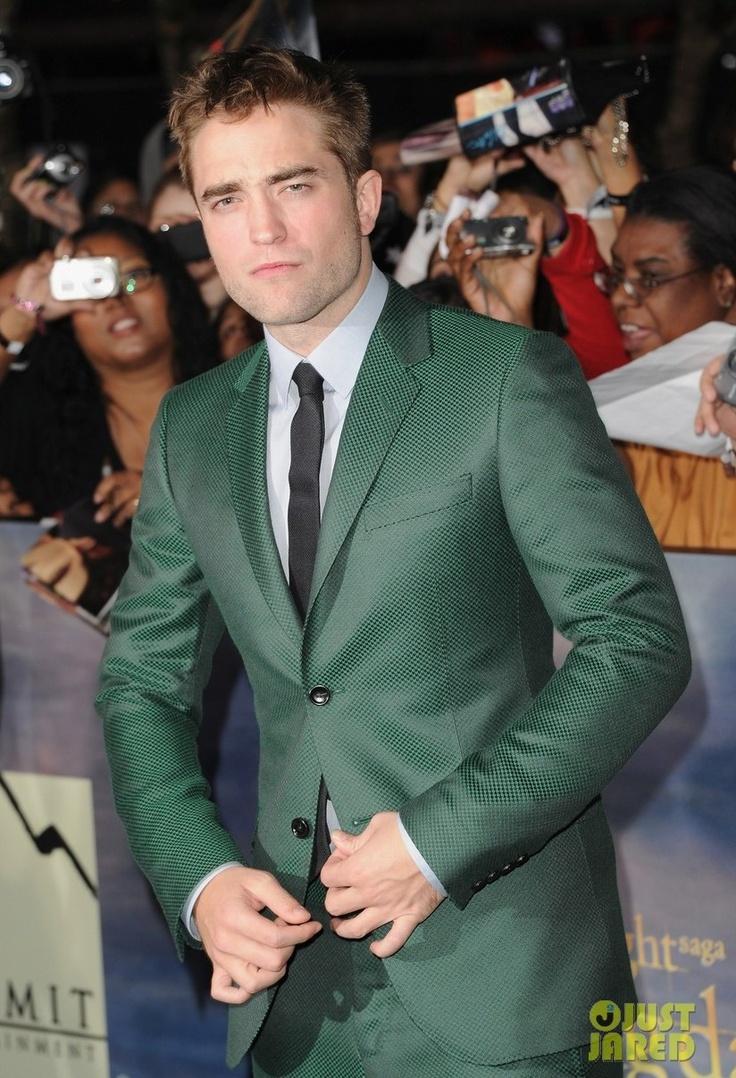 Robert Pattinson at the The Twilight Saga Breaking Dawn