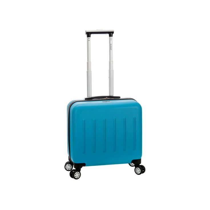 Pelican Hill Rolling Laptop Case, Turquoise