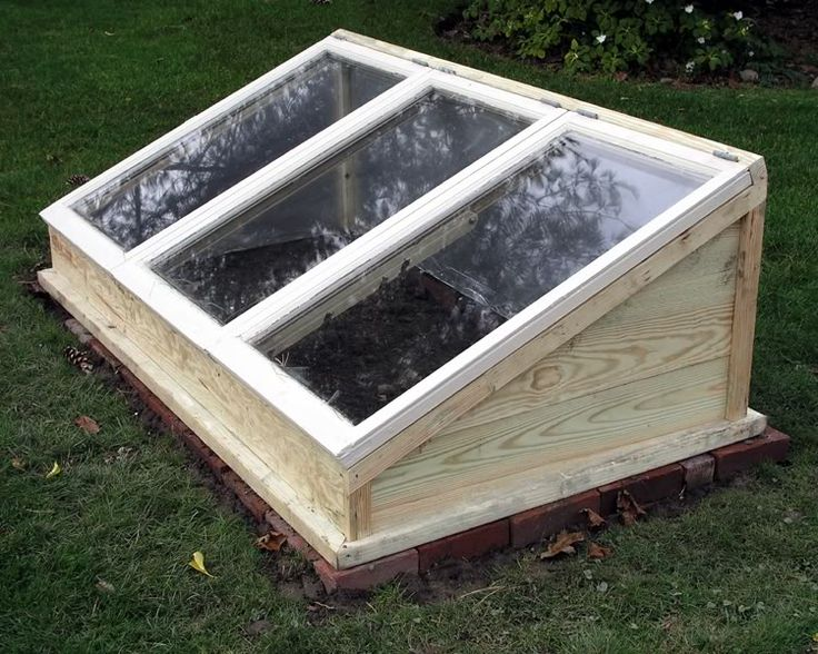 Garden - cold frame design and drawings