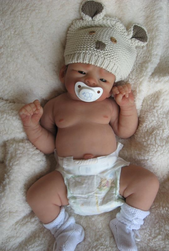 Tristan full body silicone doll available from Ann Day