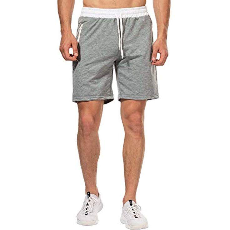 CHYU Herren Sport Joggen und Training Shorts Fitness Kurze Hose Jogging Hose Ber…