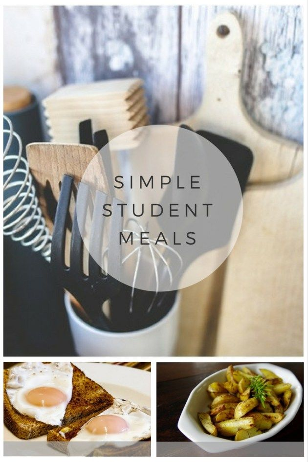 Super simple student meal ideas