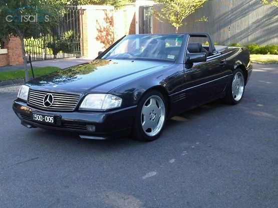 1990 MERCEDES 500SL R129 This will be Sheena's Ride