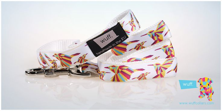 Hummingbird Dog Leash The Hummingbird is beautiful, colourful and dynamic; we recommend this pattern for truly active dogs. http://www.wuffcollars.com/en/item/Hummingbird_Leash-113 Item Code: 113