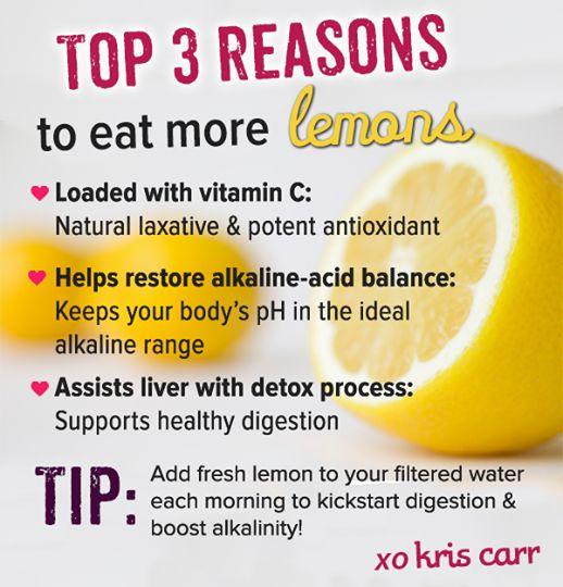 Top 3 Reasons To Eat More Lemons