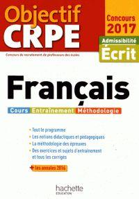 Véronique Bourhis et Laurence Allain-Le Forestier - Français - Admissibilité écrit.