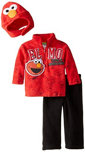 Sesame St Baby Boys' 2 Piece Elmo Cute Awesome Pullover Pant and Hat, Red, 12 Months Sesame Street http://www.amazon.com/dp/B00GFWI4K0/ref=cm_sw_r_pi_dp_axSBwb1F9CANJ