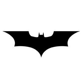 Batman Symbol Stencil 02