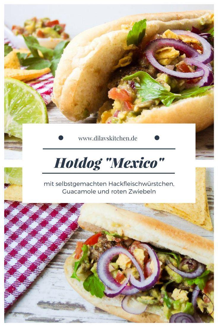 HotDog Mexico  Rezept  Schnelle Kche  Hot dogs